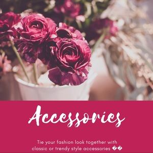 Accessories to make your look pop!